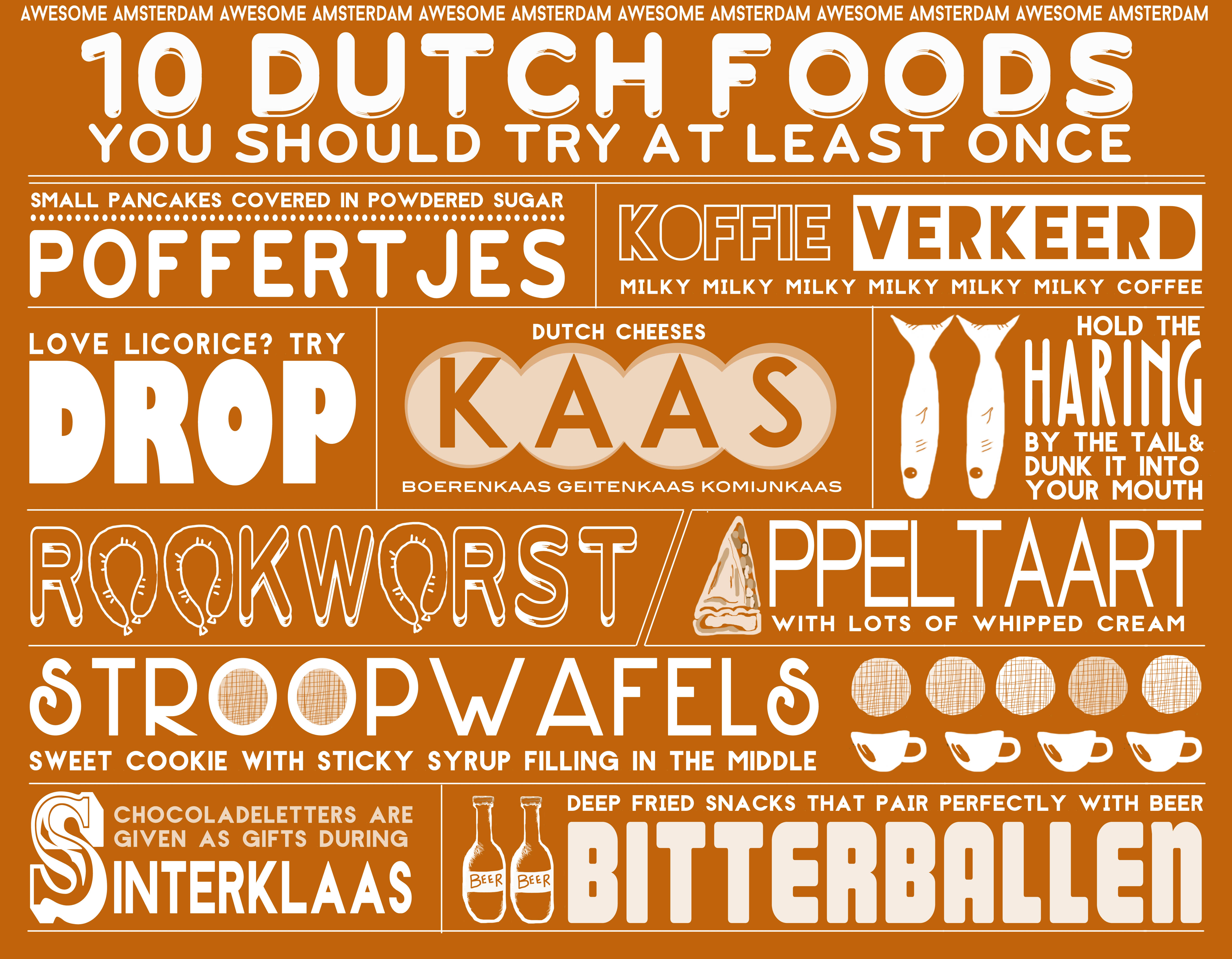 netherlands food, dutch foods, cuisine in the netherlands