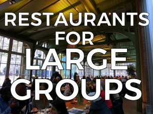 AMSTERDAM RESTAURANTS FOR LARGE GROUPS : Looking to dine with a group of 10 or more people? Here are some of our favorite restaurants, bars and cafes that can accommodate larger group