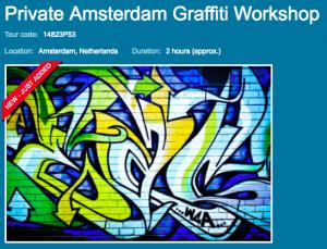 Amsterdam Graffiti Workshop