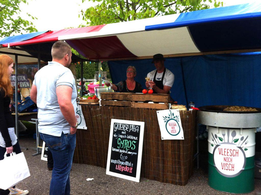 Vleesch Noch Visch- vegetarian and vegan in Amsterdam