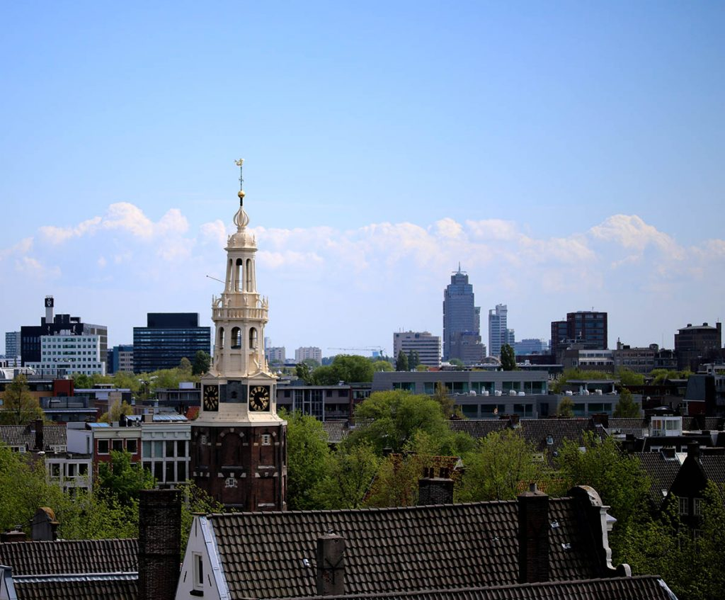 Amrath Hotel roof - BOUTIQUE & UPSCALE HOTELS IN AMSTERDAM
