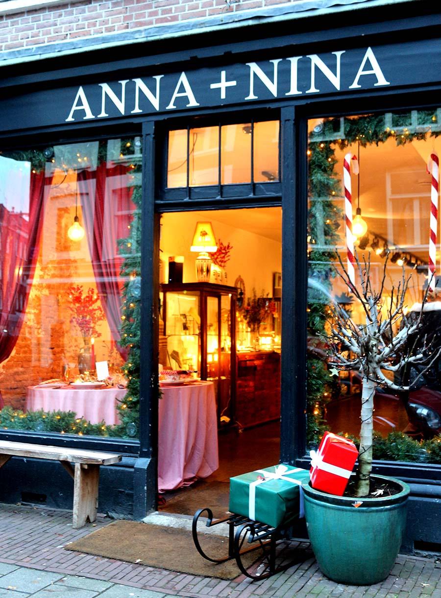 Anna+Nina shops in Amsterdam