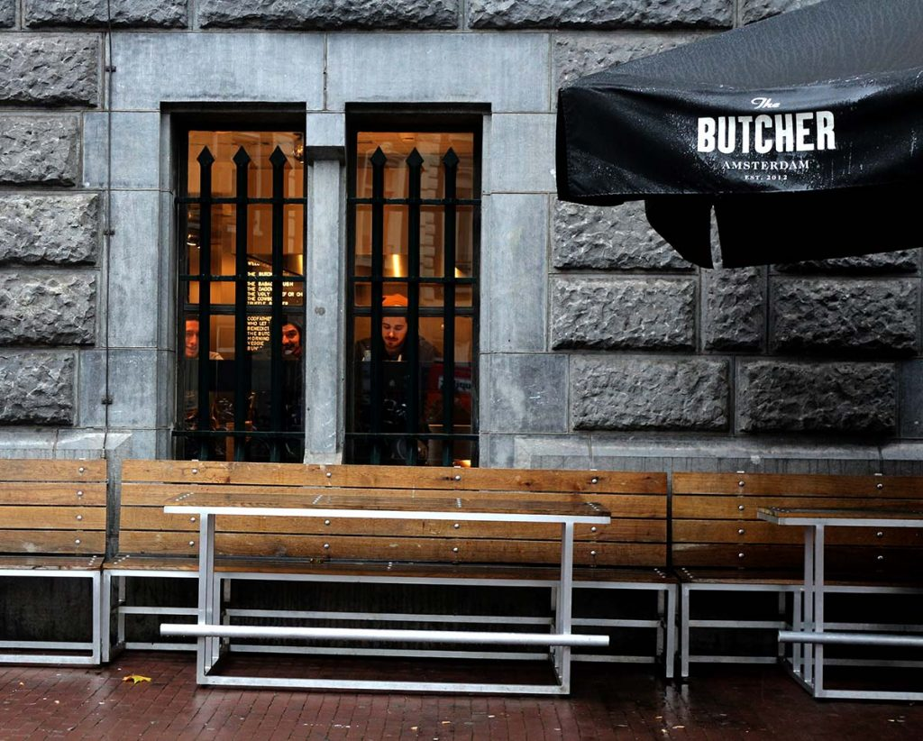 The Butcher Negen Straatjes: Juicy Burgers + Crispy Fries