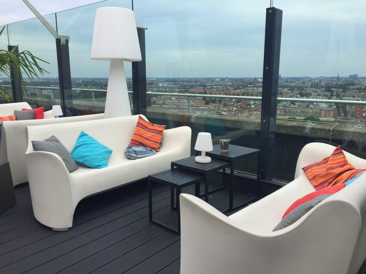 Best rooftop bars and skylounges in Amsterdam - Floor 17 - awesomeamsterdam.com