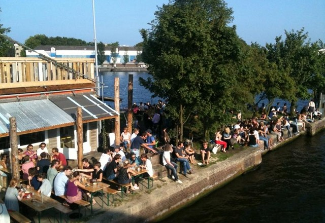 10 BEST WATERSIDE TERRACES IN AMSTERDAM
