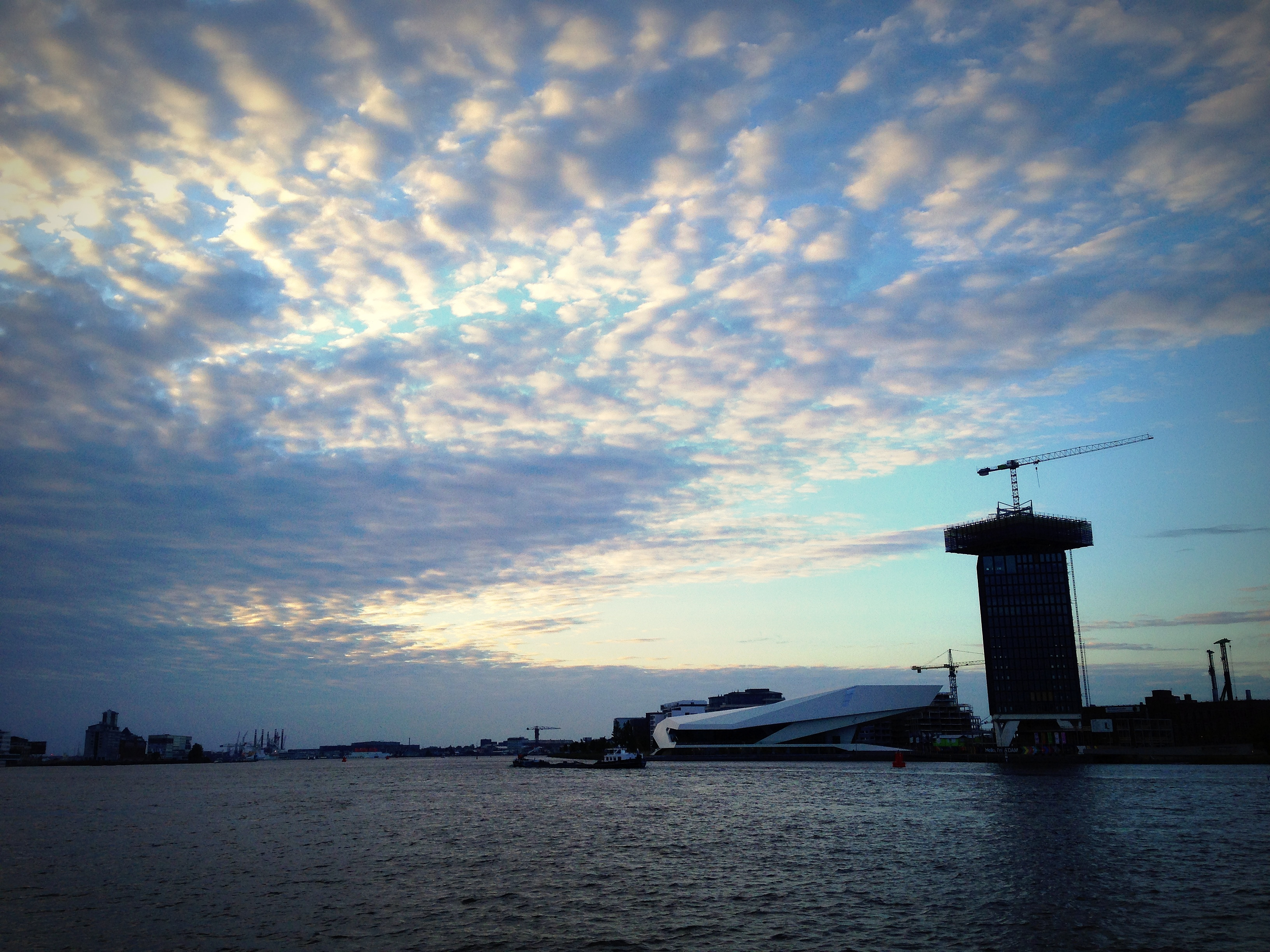 IJ view amsterdam noord