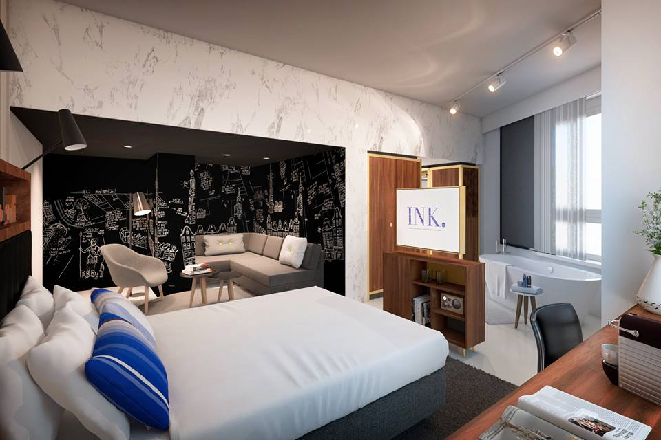 Ink hotel accommodation in the center of amsterdam for Hotel to stay amsterdam