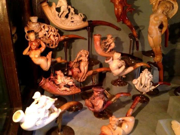 Amsterdam Pipe Museum - Pijpenkabinet