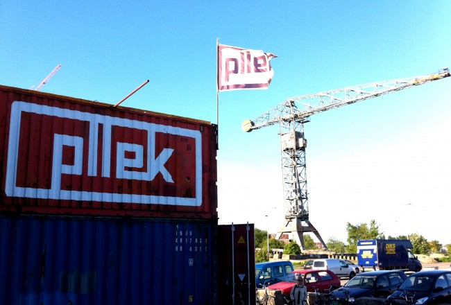 Pllek in Amsterdam Noord - a cool city beach and lovely bar and restaurant made from shipping containers