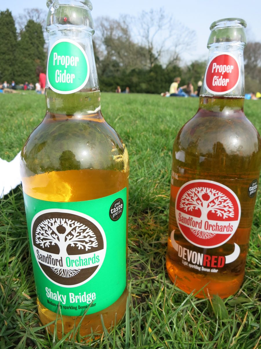 Pure Markt Amsterdam cider in the park