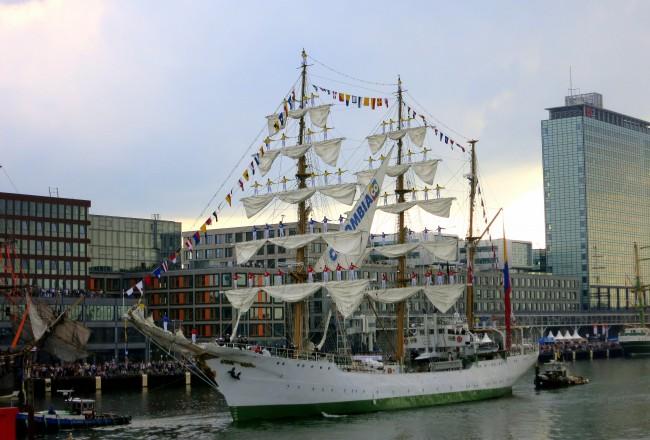 sail amsterdam 2015 tall ships Columbia