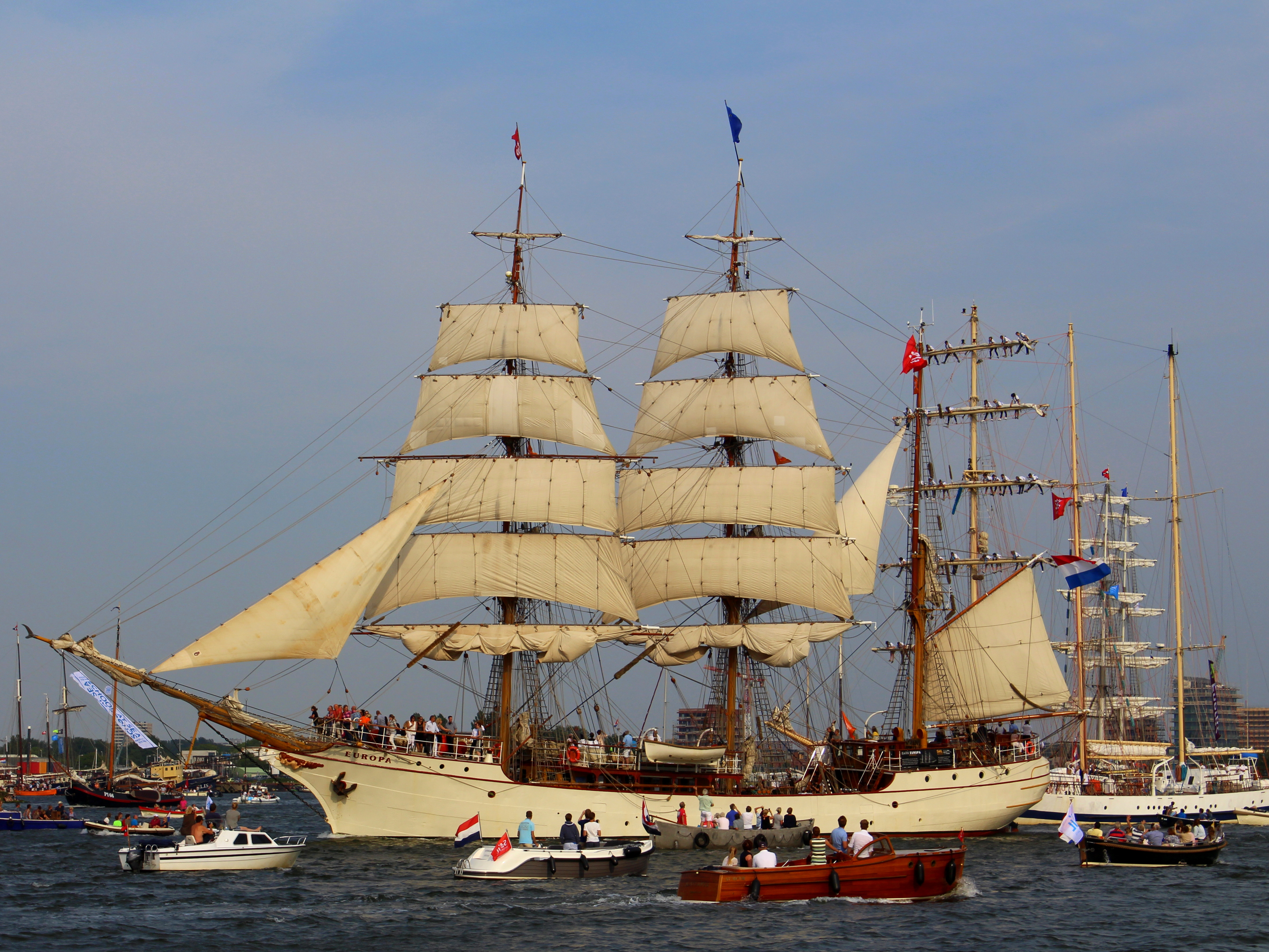 SAIL Amsterdam 2015 Sail out tall ships