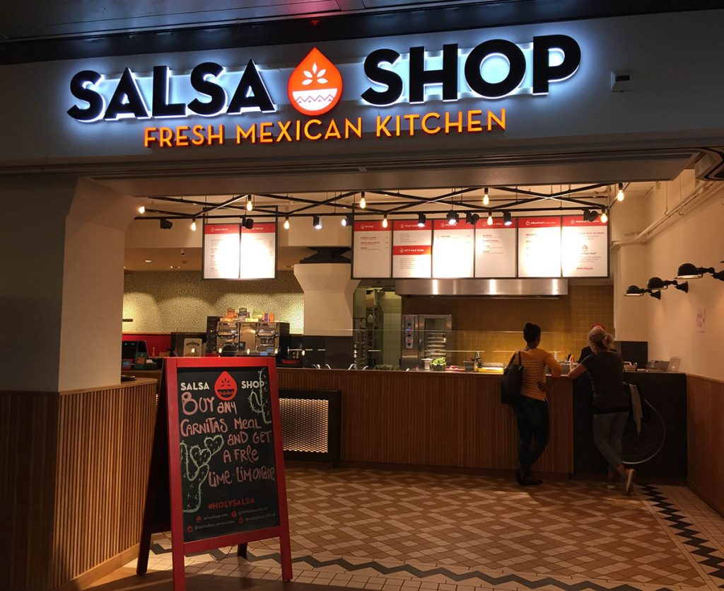 THE SALSA SHOP • BURRITOS IN AMSTERDAM