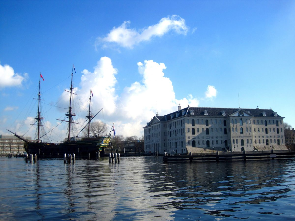 HET SCHEEPVAARTMUSEUM • EXPERIENCE THE HISTORY OF SHIPPING • Maritime Museum Amsterdam