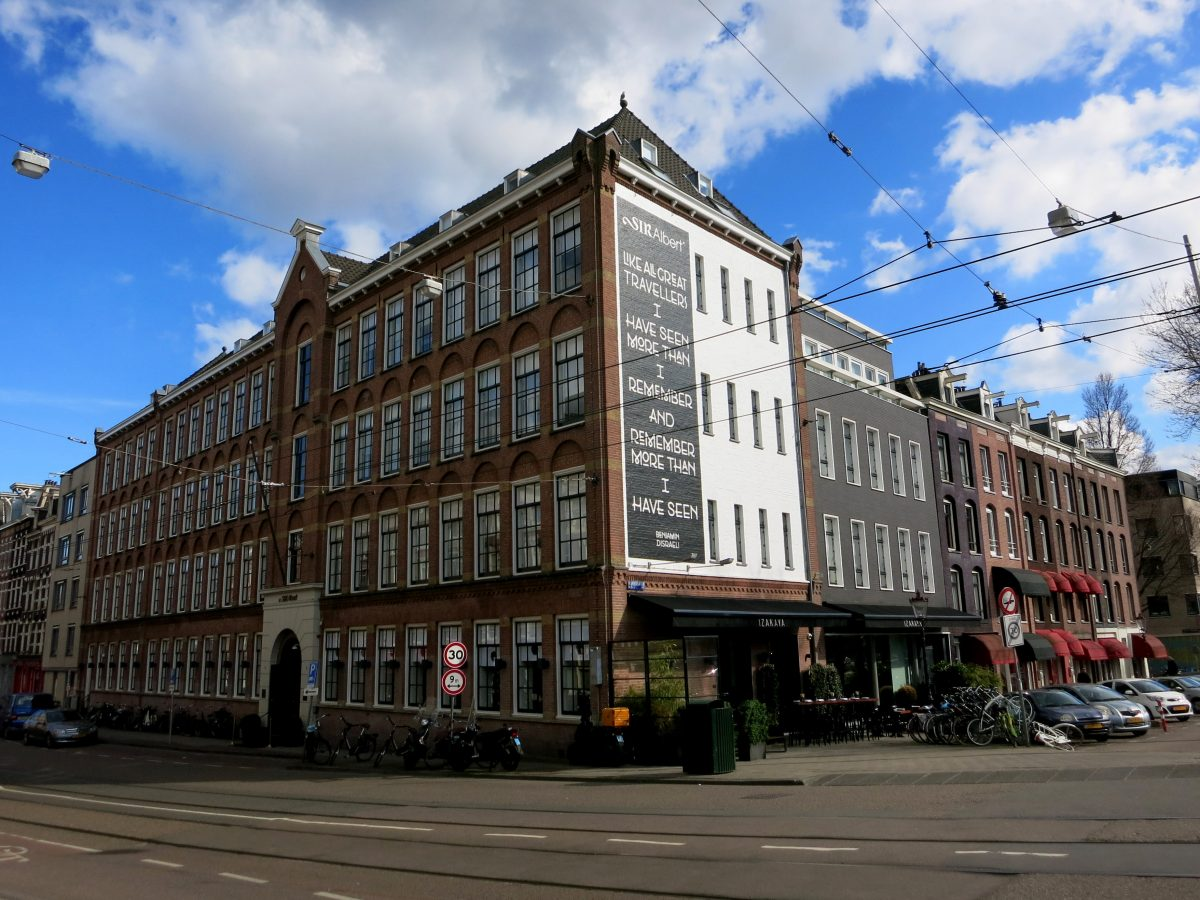 BOUTIQUE & UPSCALE HOTELS IN AMSTERDAM- Visiting Amsterdam and looking for a nice place to rest your head? These are some of the best hotels in Amsterdam, and some are wonderfully unique too. - Sir Albert Hotel
