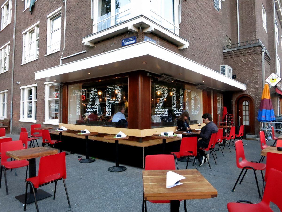 Tap Zuid is a small beer cafe on the south side of the city serving up a range of local and imported brews to thirsty customers.