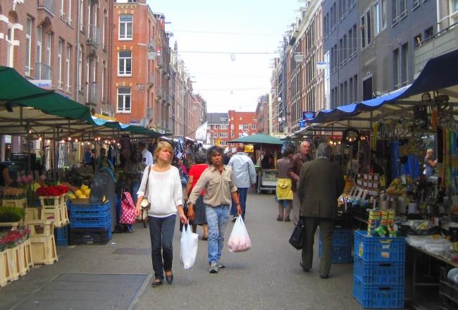 AMSTERDAM'S WEEKLY STREET MARKETS