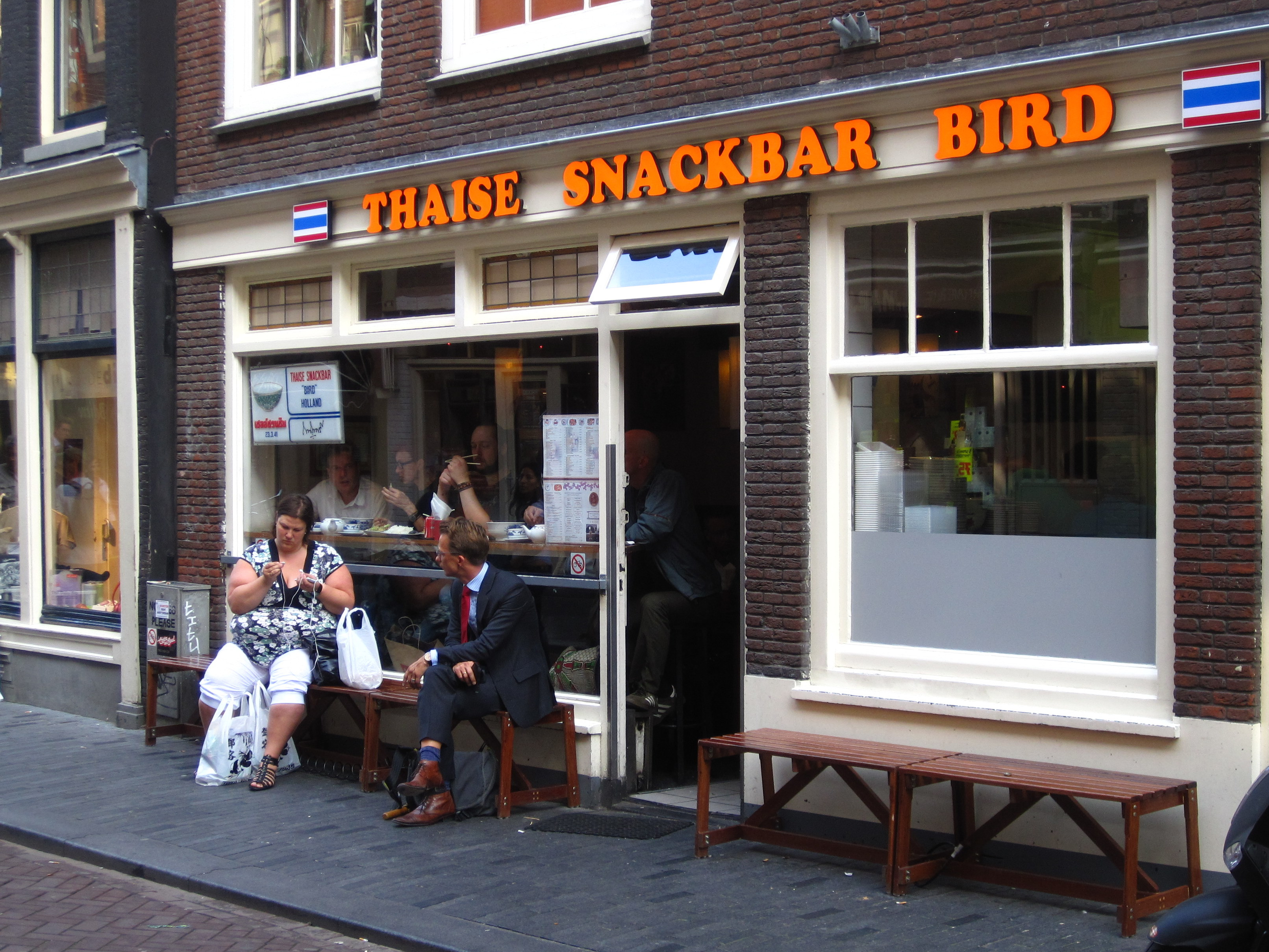 thai bird snackbar