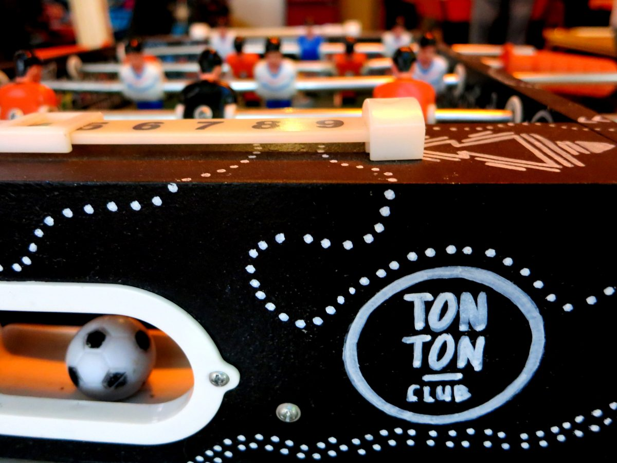 DE TONTON CLUB • GAME ON! AT THIS BARCADE IN AMSTERDAM