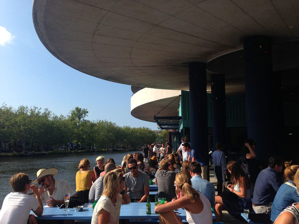 BEST WATERSIDE TERRACES IN AMSTERDAM: sip a drink canalside: Waterkant