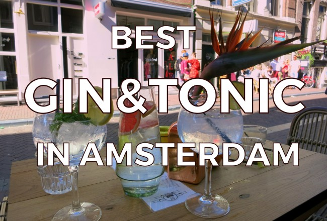 The G&T trend has taken over Amsterdam. Here are some bars and restaurants where you can find our favorite gin and tonics in Amsterdam.