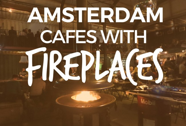 Here is a list of our favorite Amsterdam restaurants with fireplaces or firepits where you can relax with a drink, snuggle together and stare into the flames