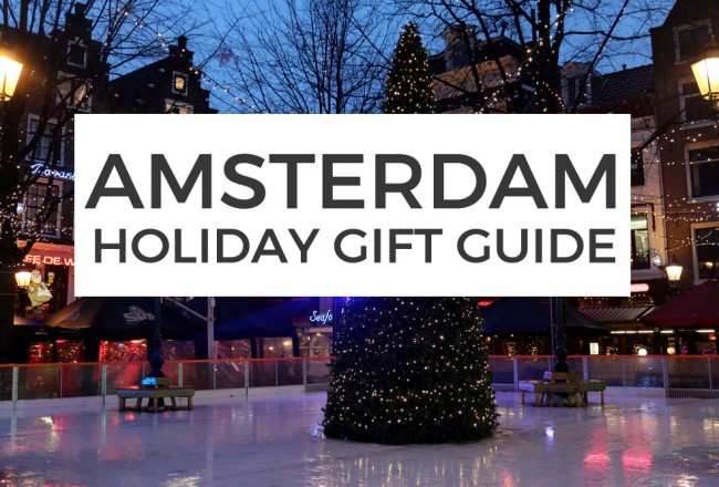 give your loved ones Amsterdam gifts! We've selected more than 50 of our favorite items for every recipient, from beer lovers to fashion freaks.