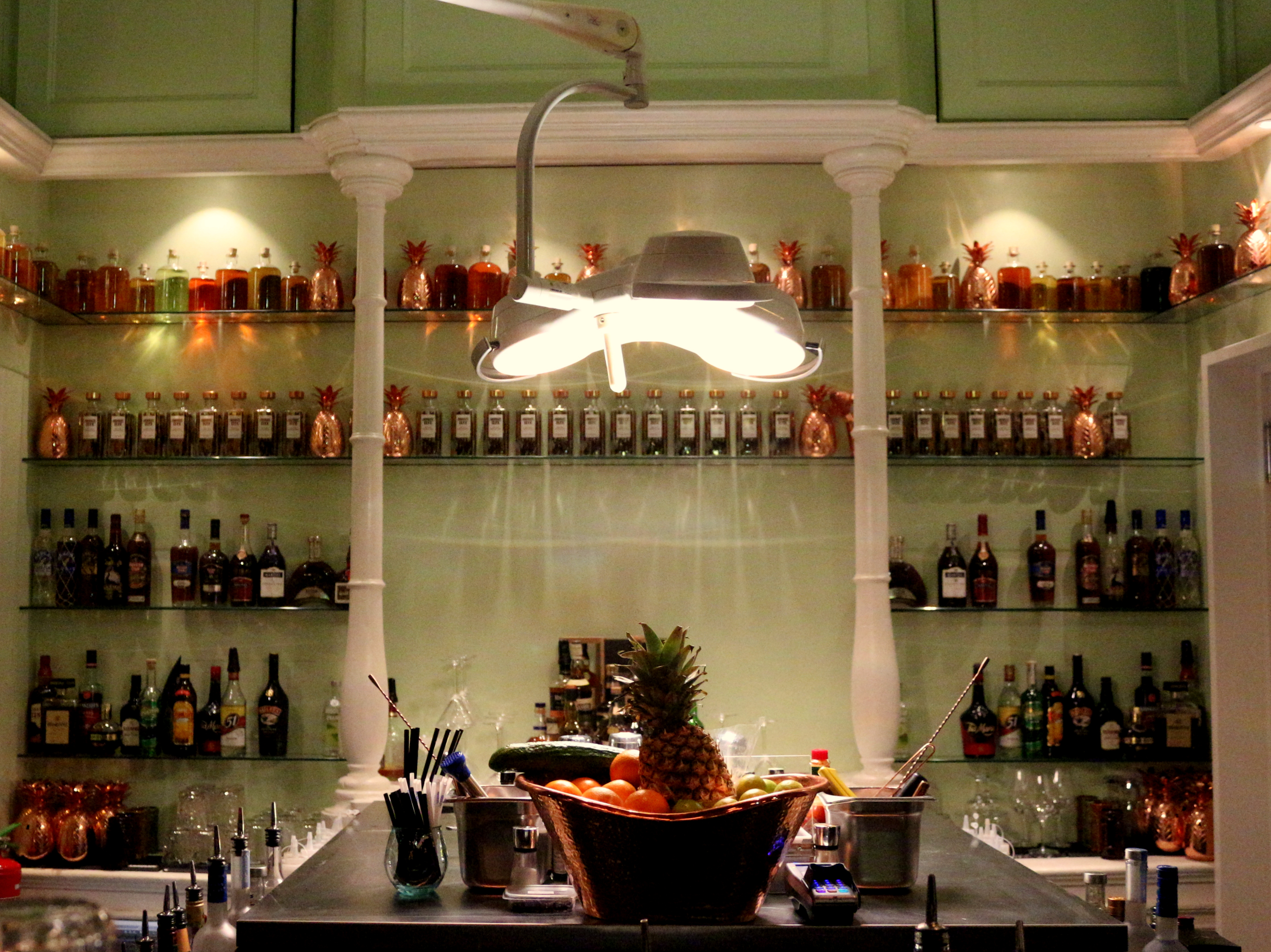 APT is the new cocktail lounge in the Supperclub, a large and lovely space to enjoy a special libation.  awesomeamsterdam.com