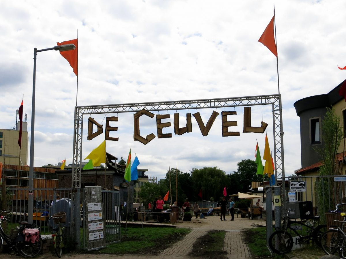 Cafe de Ceuvel Amsterdam