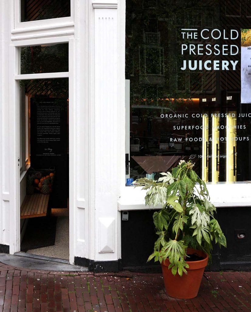 Amsterdam juice bars