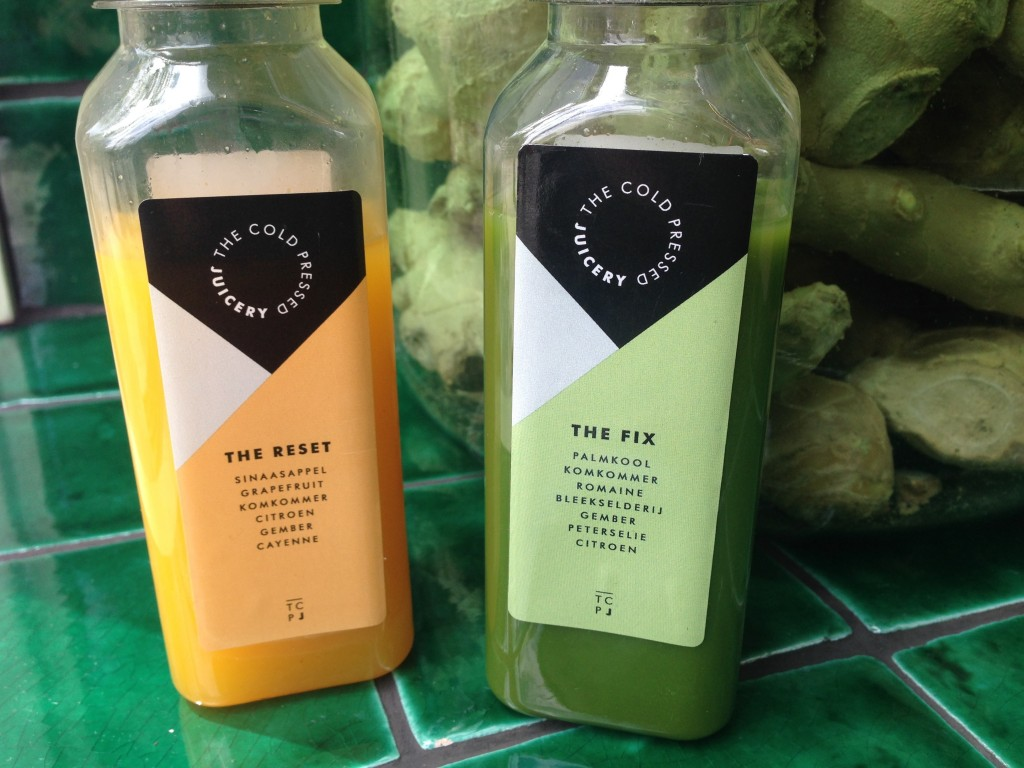 The Coldpressed Juicery - vegetarian and vegan in Amsterdam