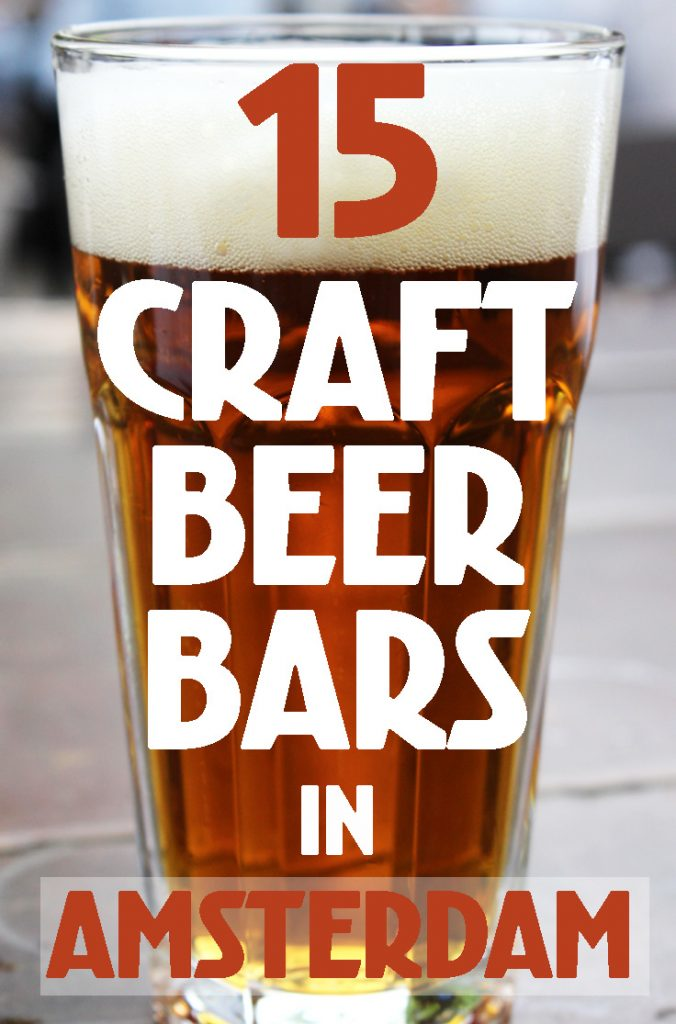 SPECIALTY BEER BARS IN AMSTERDAM • best craft beer bars in Amsterdam