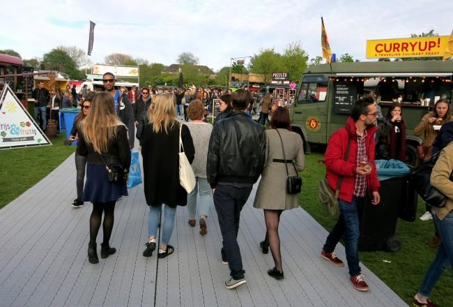 rollende keukens food festival amsterdam