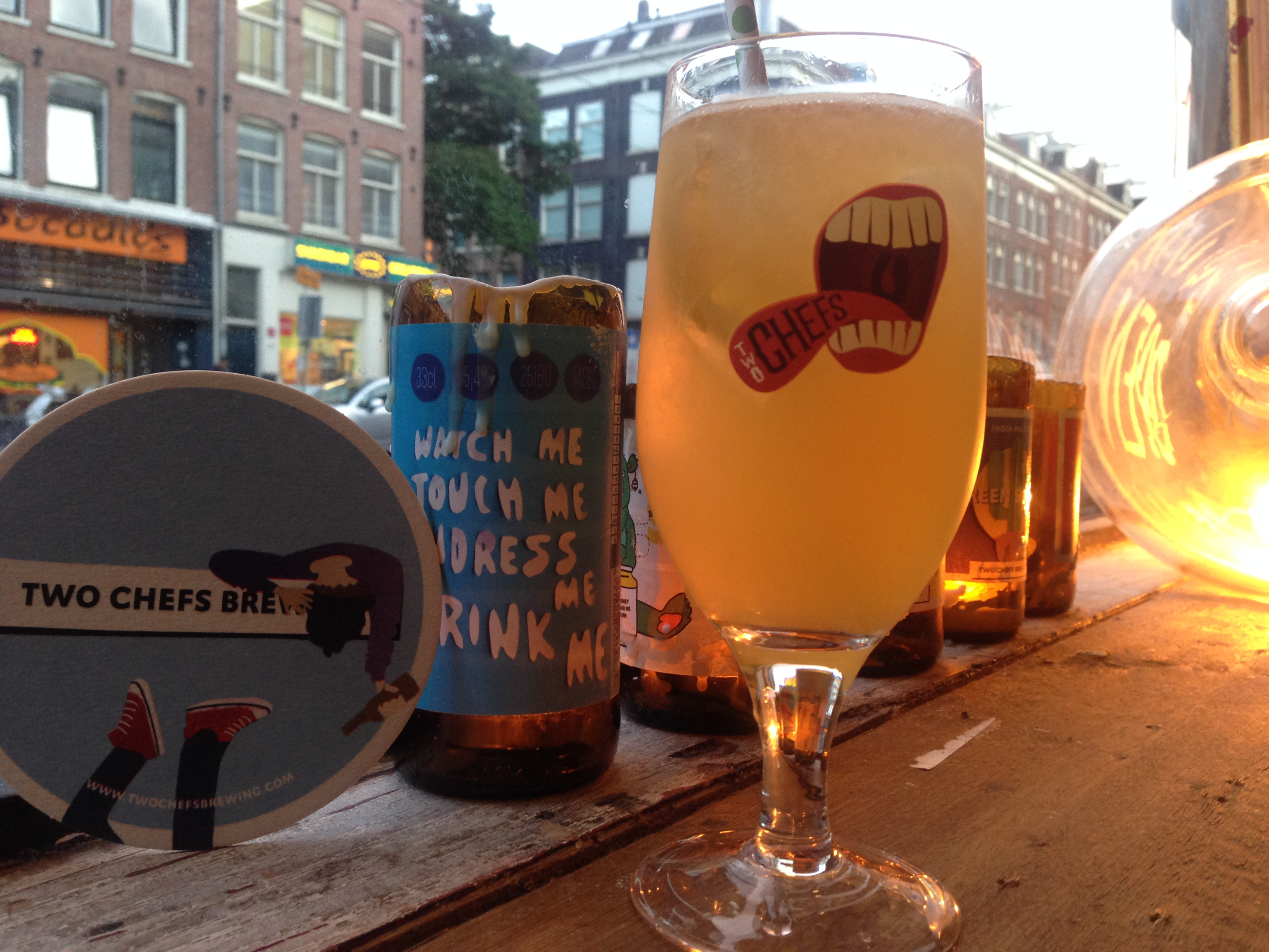 Thirsty for craft beer in Amsterdam? Here are 10 of our favorite local Amsterdam microbreweries! Two Chefs Brewing awesomeamsterdam.com