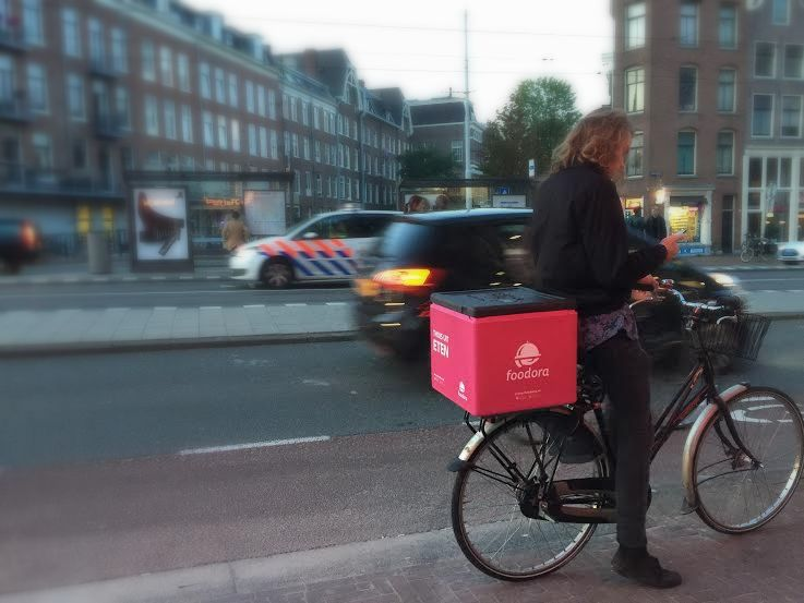FOOD DELIVERY AMSTERDAM - foodora