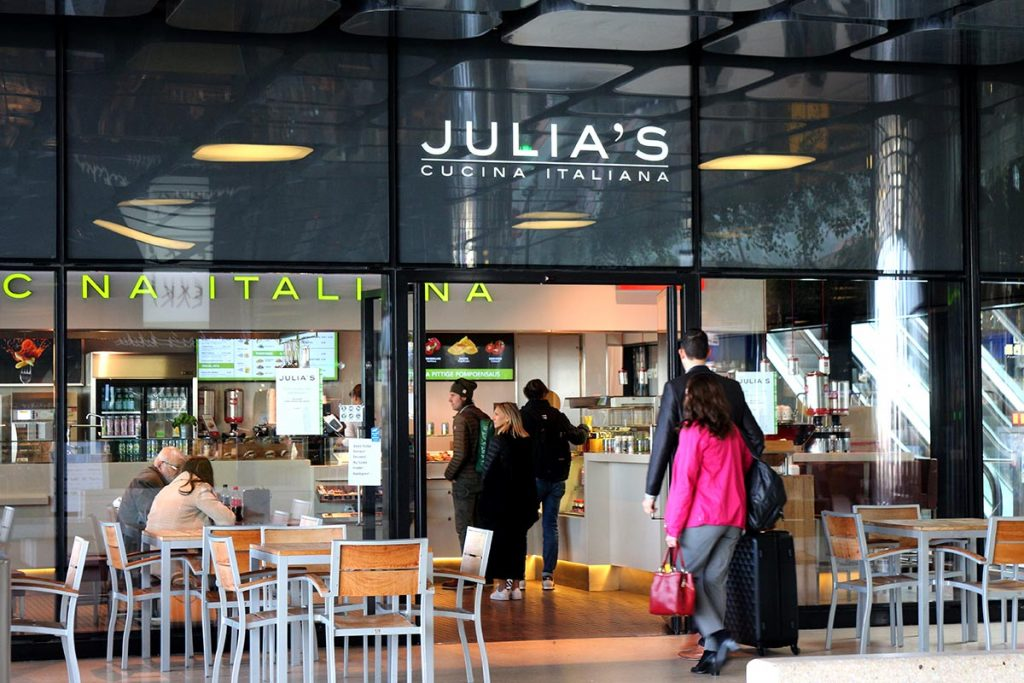 WHERE TO EAT AT AMSTERDAM CENTRAL STATION - Julia's