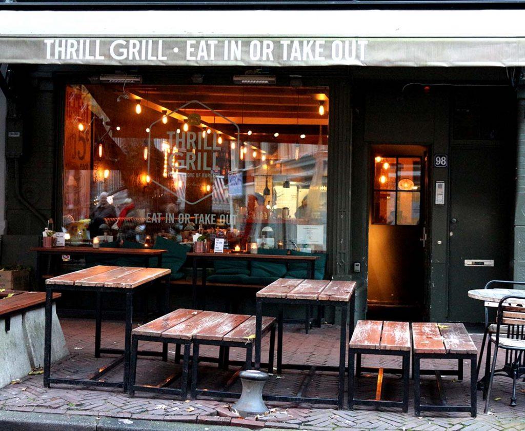 THRILL GRILL • Amsterdam Burger Restaurant