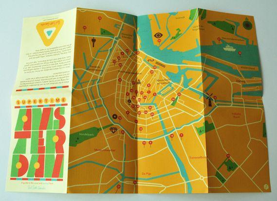 AMSTERDAM HL MAP
