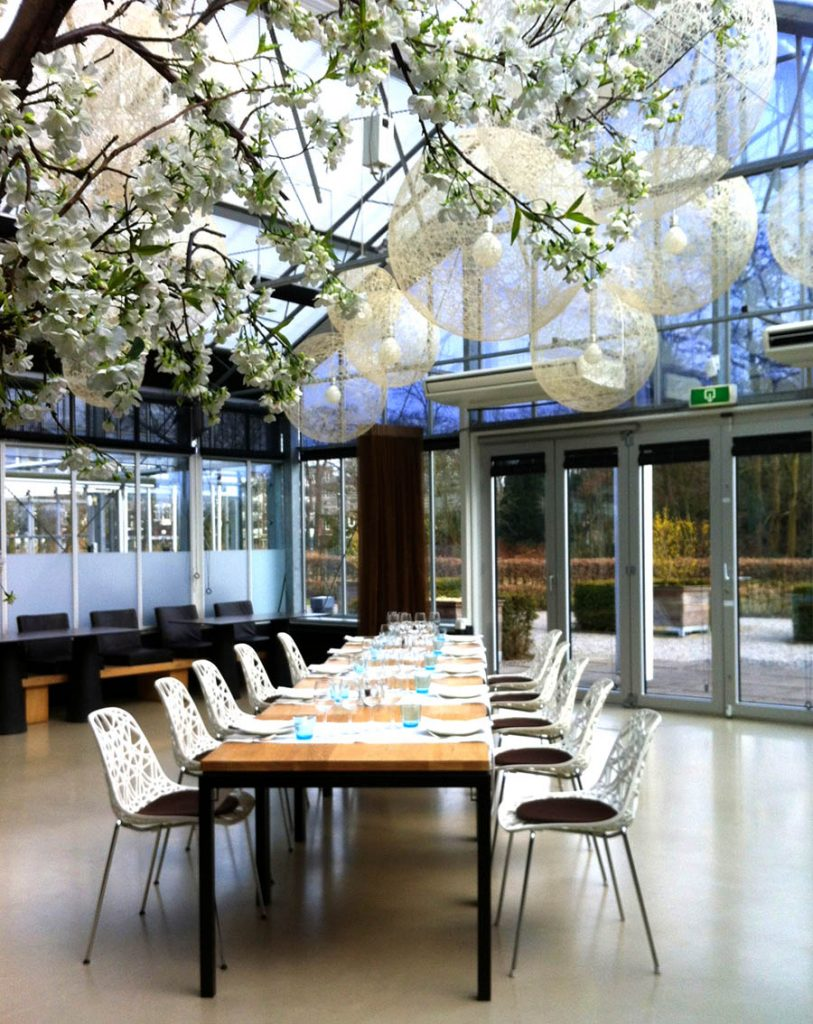 Amsterdam Restaurants for Large Groups :: restaurant de kas