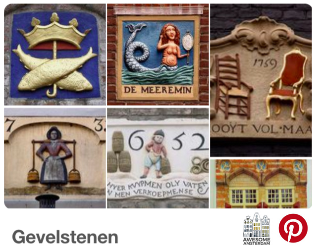 check out my Pinterest board: Gevelstenen