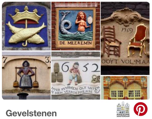 check out my Pinterest board: Gevelstenen