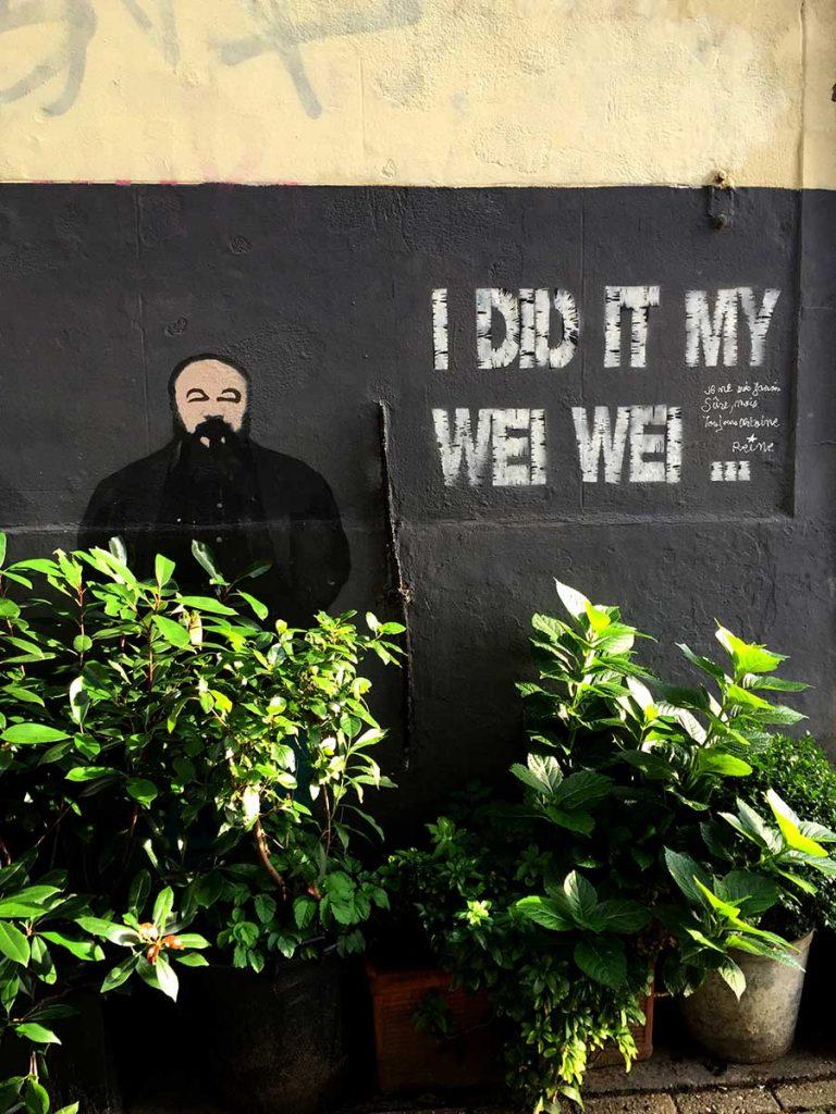 Amsterdam Street Art :: wei wei