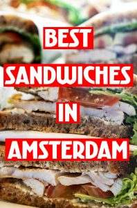 Best sandwiches in Amsterdam MP