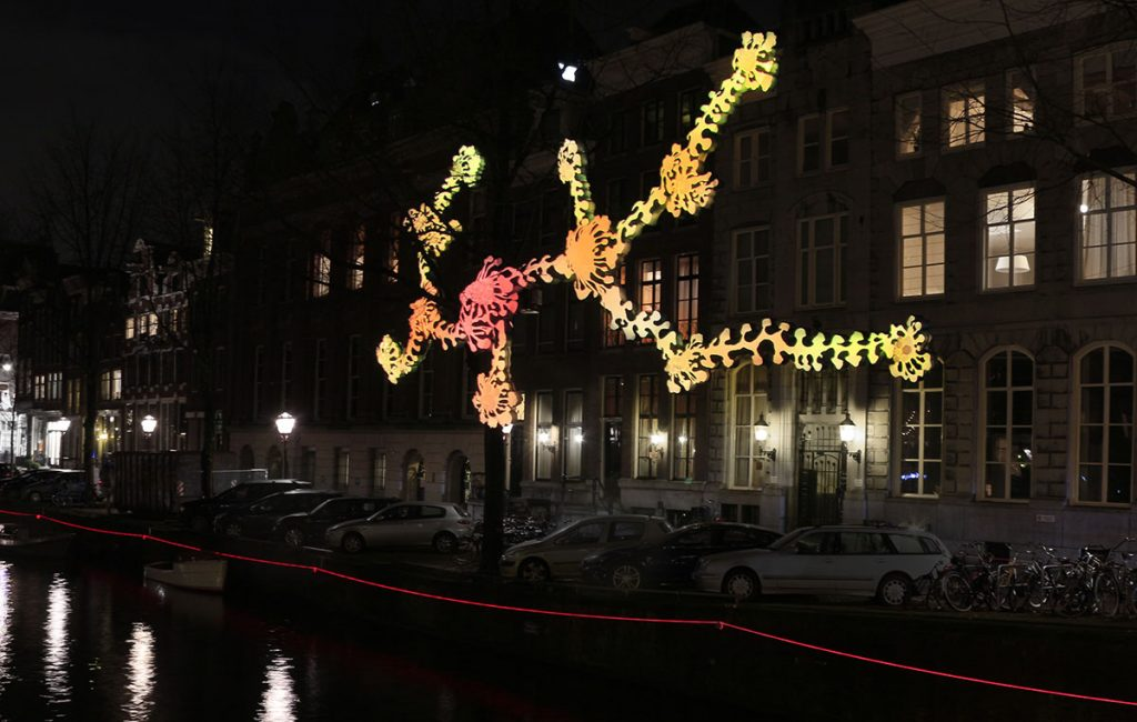 The Amsterdam Light Festival adds bright beauty to the city during the darkest months of the year. View the spectacular light sculptures created by artists in public spaces either on foot, by bicycle or by canal boat.