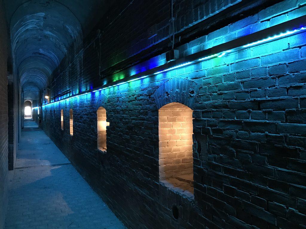 Winterlicht Pampus -have dinner in an old fort island- Secrets of Amsterdam