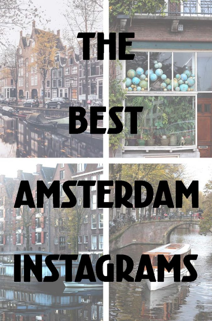 BEST AMSTERDAM INSTAGRAM ACCOUNTS