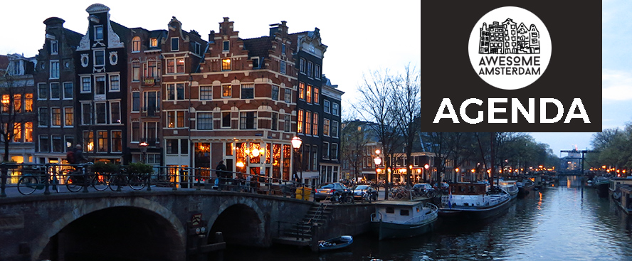 Check out our calendar with tons of awesome events happening in Amsterdam this week! - awesomeamsterdam.com