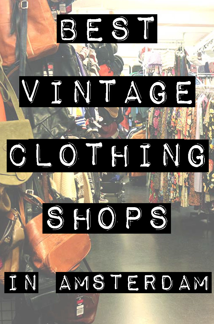 best vintage clothing shopping in amsterdam shops