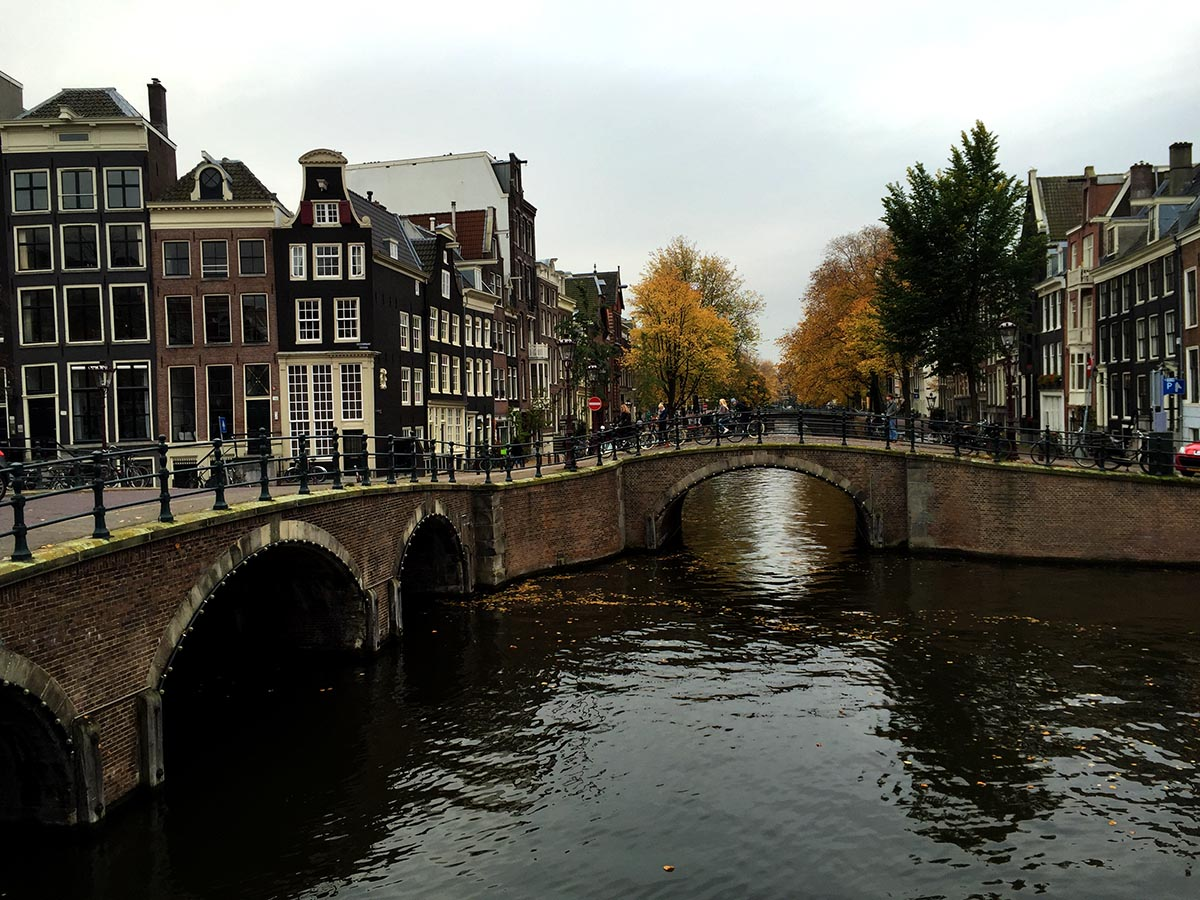 Amsterdam's Bridge of 15 Bridges