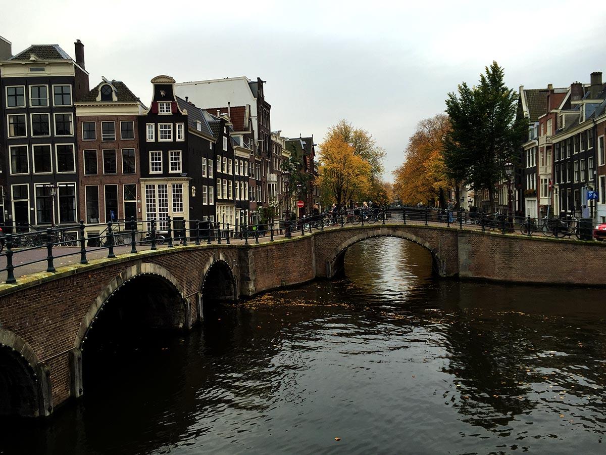Amsterdam's Bridge of 15 Bridges